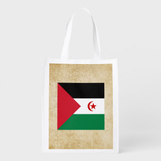 Distressed Western Sahara Flag