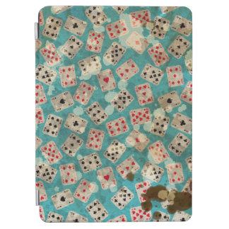 Distressed Wonderland Alice Pattern iPad Air Cover