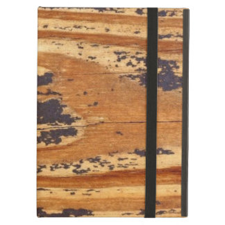 Distressed Wood iCase iPad Case with Kickstand