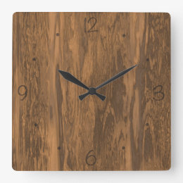 Wooden Wall Clocks Zazzle Com Au