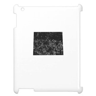 Distressed Wyoming Silhouette Case For The iPad 2 3 4