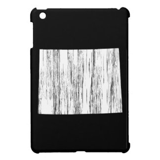 Distressed Wyoming State Outline Cover For The iPad Mini