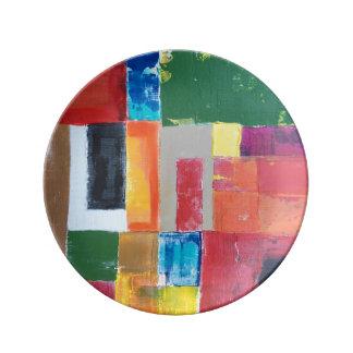 District 24 Salad Plate