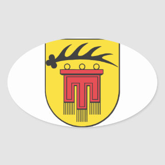 District Böblingen coat of arms Oval Sticker