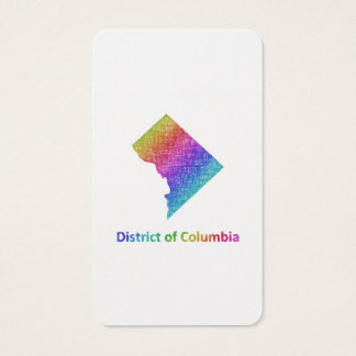 District of Columbia Business Card