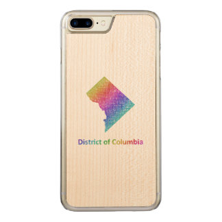 District of Columbia Carved iPhone 8 Plus/7 Plus Case