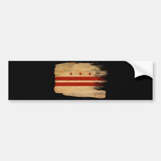 District of Columbia Flag Bumper Sticker