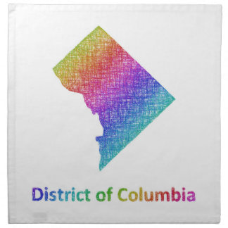 District of Columbia Napkin