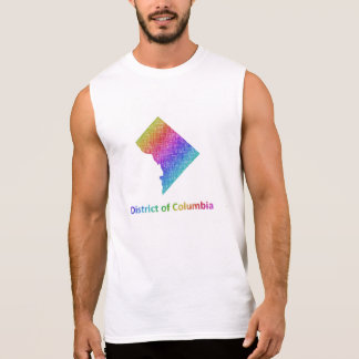 District of Columbia Sleeveless Shirt