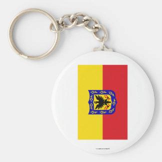 Distrito Capital Flag Keychains