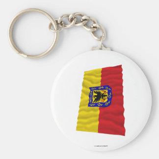 Distrito Capital Waving Flag Keychain