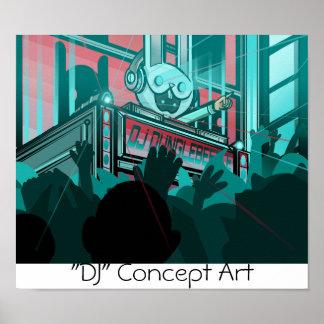 """Distro Horizons""- DJ Poster"