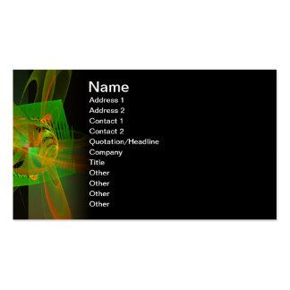 Disturbance Abstract Fractal Artwork Business Cards