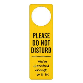 Door Hangers - Disturbing 'Do Not Disturb' Door Sign