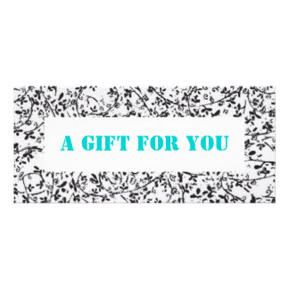 Ditsy2 gift certificate template