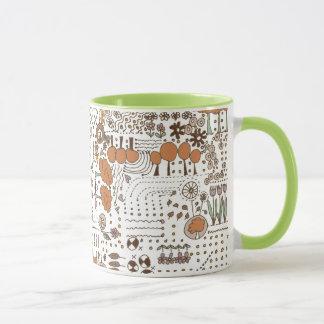 Ditsy Garden mug