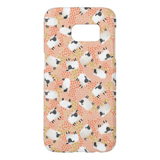 Ditsy Sheep Blush Coral Pink / Andrea Lauren