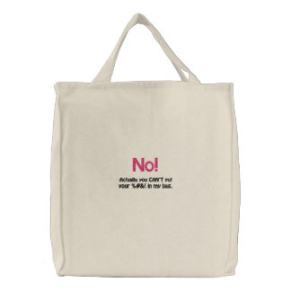 Ditty Bag_Funny Girlz_No You Can't Bags