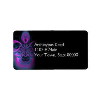 Diva Address Label
