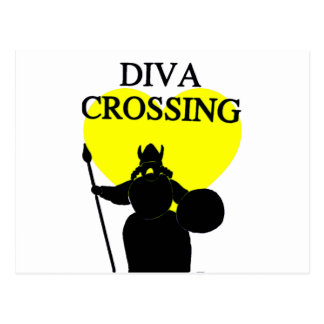 Diva at Work_ Postcard