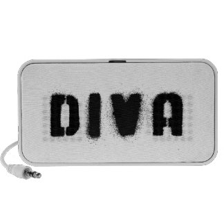 Diva Audio Black Portable Speaker