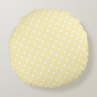 Diva Ballerinas Yellow Round Cushion
