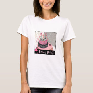 Diva Birthday Cake T-Shirt