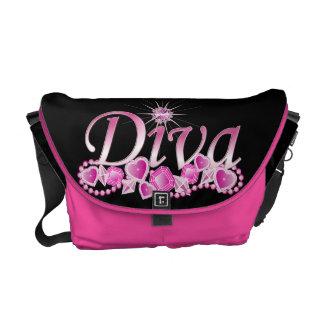 Diva Bling Messenger Bag