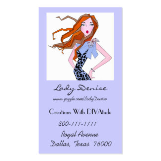 Diva Business Cards