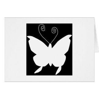 Diva Butterfly Greeting Cards