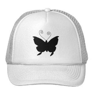 Diva Butterfly Mesh Hats