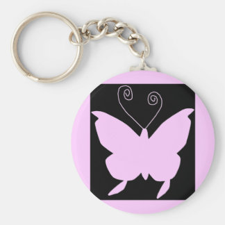 Diva Butterfly Key Ring