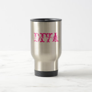 Diva coffee spill proof cup stainless steel travel mug