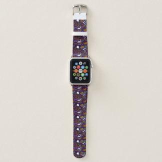 Diva Dachshund's Halloween Apple Watch Band