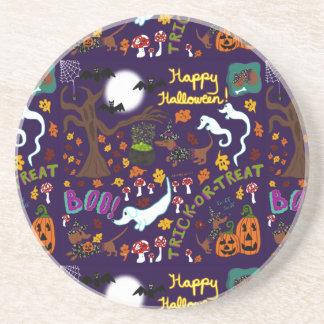 Diva Dachshund's Halloween Coaster