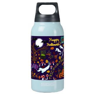 Diva Dachshund's Halloween Insulated Water Bottle