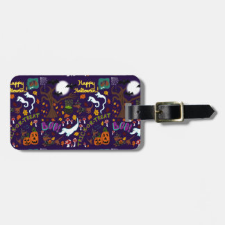 Diva Dachshund's Halloween Luggage Tag
