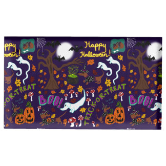 Diva Dachshund's Halloween Table Card Holder