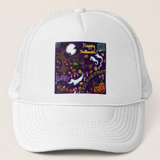 Diva Dachshund's Halloween Trucker Hat