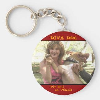 DIVA DOG Linda Blair Keychain