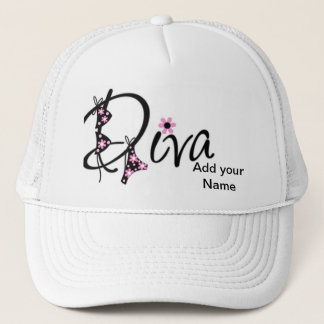 Diva Hat Personalized