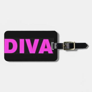 Diva Luggage Tag