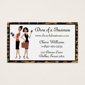 Diva of a Business Business Card