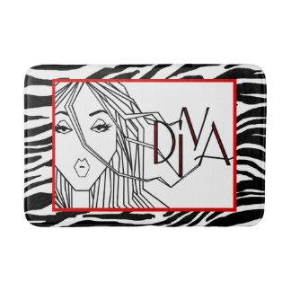 """""""DIVA"""" of a Rug Bath Mats"""