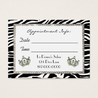 Diva of Appointment  Cards