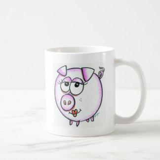 Diva Pig Coffee Mug