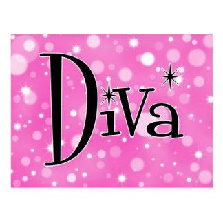 Diva Postcard