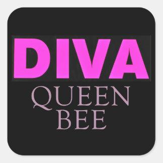 Diva Square Sticker