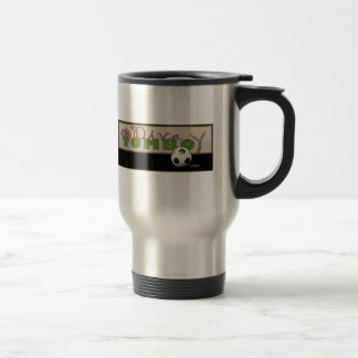Diva Tomboy's official web logo Travel Mug