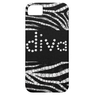 DIVA Zebra Bling iphone5 cases iPhone 5 Cover